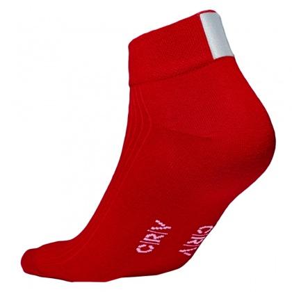 Reflex-Socken, ROT