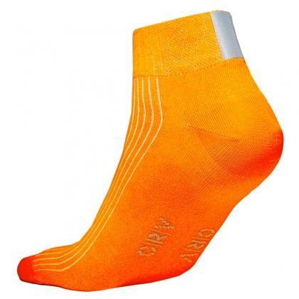 Reflex-Socken, ORANGE