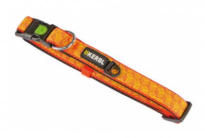 Reflex-Hundehalsband - orange
