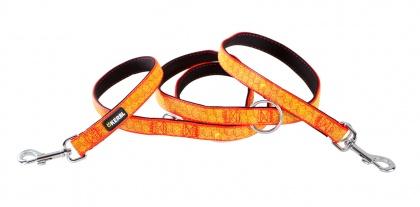 Reflex-Führleine - orange