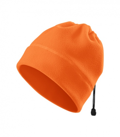 Fleece-Mütze / Halswärmer ORANGE