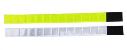 3M Refl ex-Streifen mit Klettverschluss, GELB