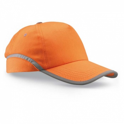 Baseball-Kappe mit Reflex-Elementen ORANGE