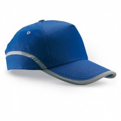 Baseball-Kappe mit Reflex-Elementen BLAU