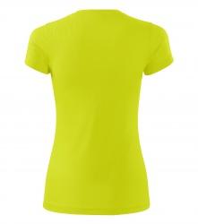 Sport-Shirts – fluoreszierende Farben für Damen, GELB