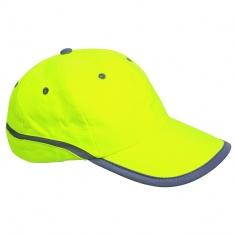 Baseball-Kappe mit Reflex-Elementen GELB