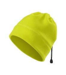 Fleece-Mütze / Halswärmer GELB