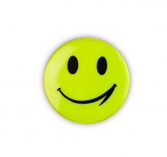 Reflektierender Aufkleber - SMILE KLEIN; Pck. 5 St.