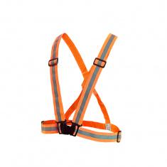 Elastische Reflex-Hosenträger, ORANGE