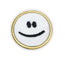 Reflektierender Aufbügler SMILE