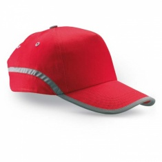 Baseball-Kappe mit Reflex-Elementen ROT